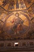 Day of Judgement Byzantine Mosaic - Florence Baptistery Cupola — Stockfoto