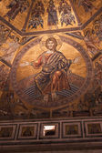 Day of Judgement Byzantine Mosaic - Florence Baptistery Cupola — ストック写真