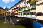 Ponte Vecchio - Florence — Stock Photo