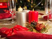рождественский обед — Стоковое фото