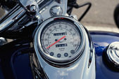Speedometer motorcycle. — Stock Photo