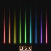 Laser rays — Stock Vector