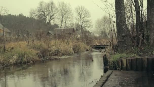 Spooky village in Lithuania — Vidéo