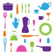 Kitchen Icons Set — Stock Vector #59332897