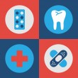 Medical and Hospital icons set great for any use, Vector EPS10. — Stock Vector #61414247