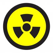 Biohazard icon great for any use. Vector EPS10. — Stock Vector