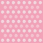 Rose Pink Pattern Background icon great for any use. Vector EPS10. — Stock Vector