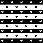 Svart och vitt hjärta bakgrunden ikon stor för någon användning. Vector Eps10. — Stockvektor