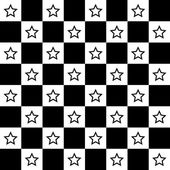 Star chessboard ?background icon great for any use. Vector EPS10. — Stock Vector