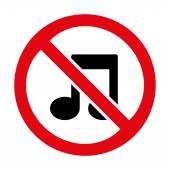 No music icon great for any use. Vector EPS10. — Stock Vector