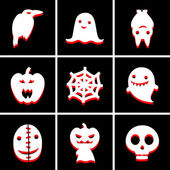 Halloween icon great for any use. Vector EPS10. — Stock Vector