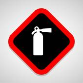 Fire Extinguisher icons set great for any use. Vector EPS10. — Stock Vector