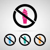 No icecream icon great for any use. Vector EPS10. — Stock Vector