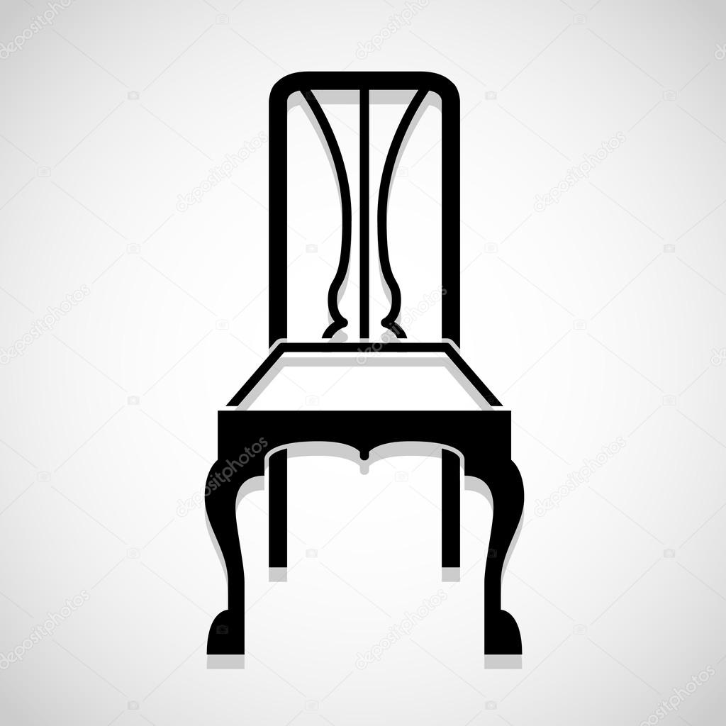 Antique  armchair  background  bar  black  business  cafe  chair  classic  collection  decoration  design  element  eps10  furniture  graphic  group  home. Antique  armchair  background  bar  black  business  cafe  chair
