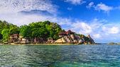 Beautiful sea at tropical island, Koh Tao — Stock Photo
