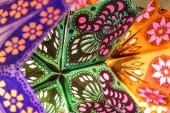Mooie close-up internationale lantaarns — Stockfoto