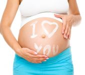 Image of pregnant woman — Stock Photo