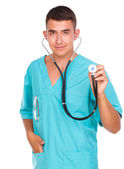 Portrait of medical male doctor — Stock Photo