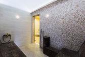 Interior of Turkish sauna, classic Turkish hammam — Stock Photo