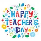 Happy Teacher's Day — Stock Photo