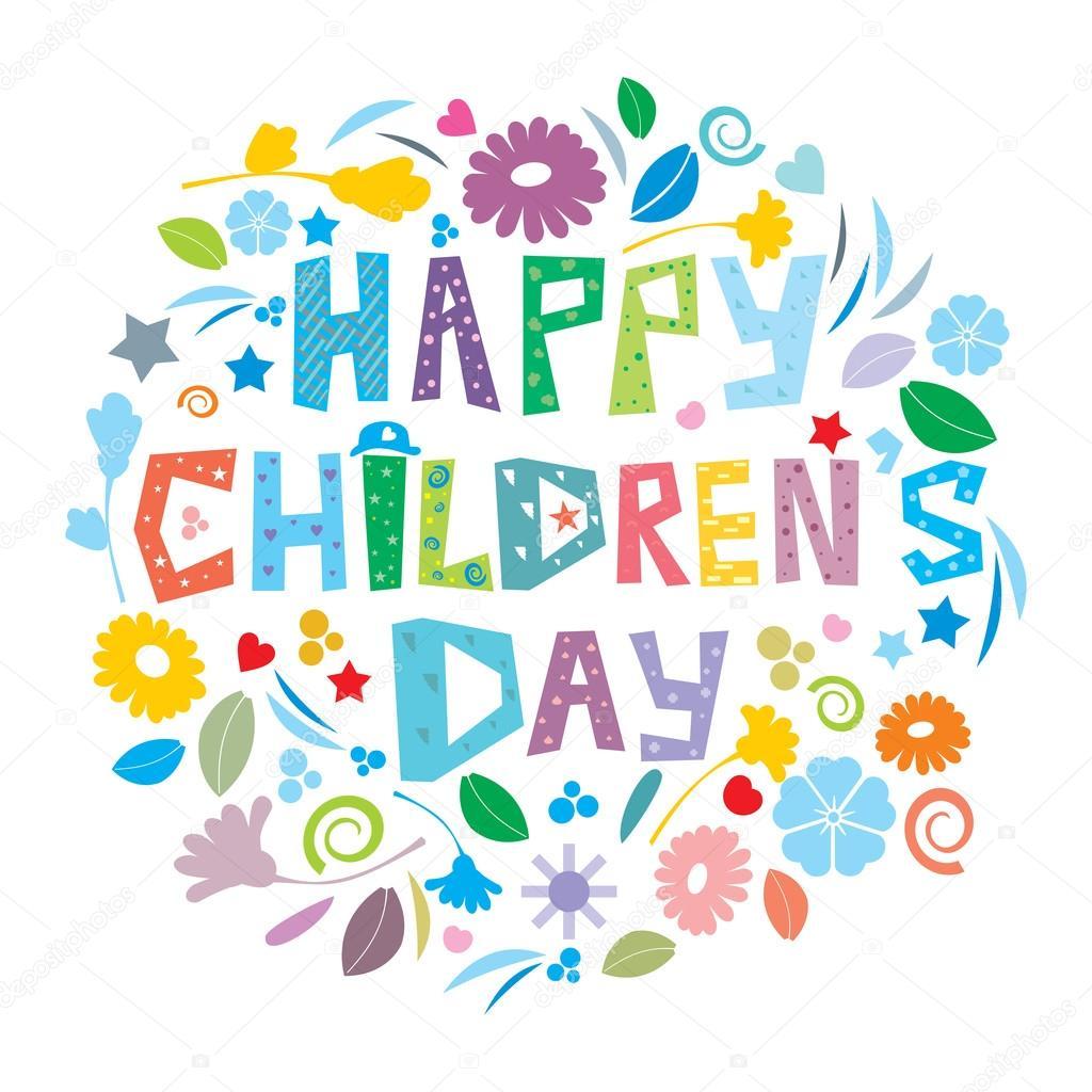 Happy Childrens Day — Stock Photo © tharun15 #52843161