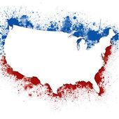 United States Patriotic Background — Stock Photo