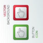 Mouse hand cursor — Stock Vector