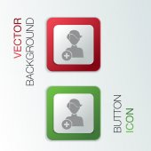 Add friend icons — Stok Vektör