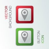 Pin location on the map — Vecteur