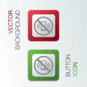 Forbidden to use mobile phone — Stock Vector