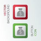 Bag of money. — Stock Vector