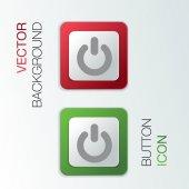 Power sign. — Stock Vector