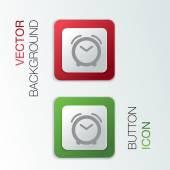 Alarm clock. — Stock Vector