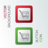 Cart online store. — Stock Vector