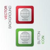 Globe symbol. — Stock Vector