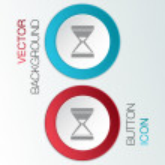 Hourglass waiting — Stock Vector #54183767