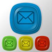 Postal envelope. — Stock Vector