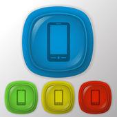 Smartphone icon — Stock Vector
