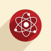 Molecule sign. — Stock Vector