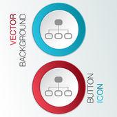 Server network. — Stock Vector