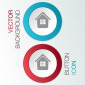 Icon home — Stock Vector