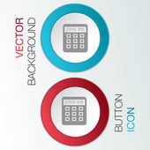 Calculator. office sign — Stock Vector