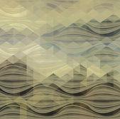 Abstrakt triangel geometrisk bakgrund — Stockvektor