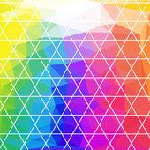 抽象三角几何背景 — 图库矢量图片