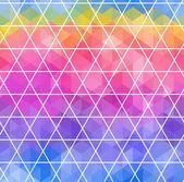 三角形の幾何学的背景 — ストックベクタ
