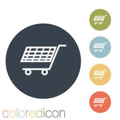 Cart online store icon — Stock Vector