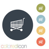 Cart online store — Stock Vector