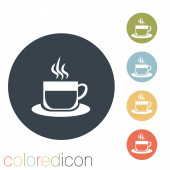 Cup of hot drink. — Stock Vector