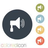Loudspeaker icon — Stock Vector