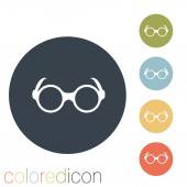 очки значок — Cтоковый вектор